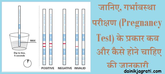 गर्भावस्था परीक्षण (Pregnancy Test)