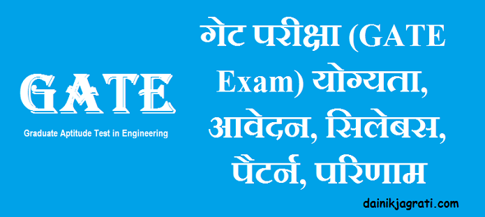 गेट परीक्षा (GATE Exam)