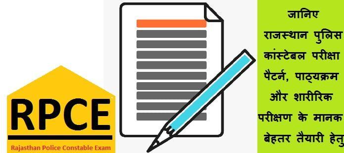 राजस्थान पुलिस कांस्टेबल परीक्षा